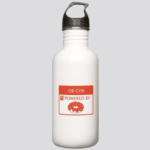 OB GYN Powered by Doughnuts Stainless Water Bottle