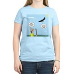 Hiking with an Eagle Women's Light T-Shirt