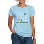 Hiking with an Eagle Women's Light T-Shirt