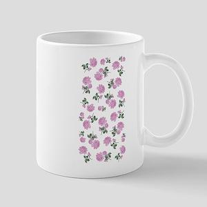 Shabby Chic Pink Floral Mug