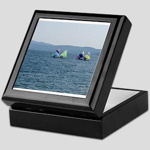 Sailing Race Keepsake Box