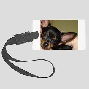 Munchkin Chihuahua Large Luggage Tag