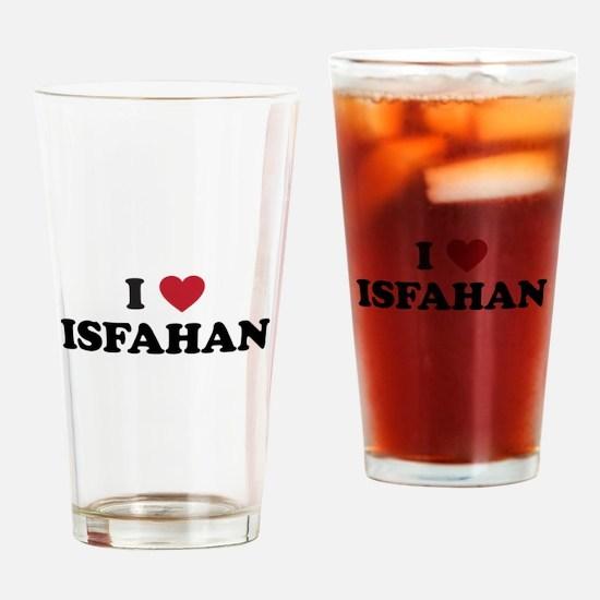 I Love Isfahan Drinking Glass