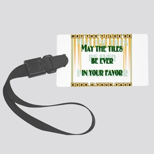 LetterTiles Large Luggage Tag