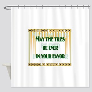 LetterTiles Shower Curtain