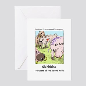 Classic Rock For Cows Greeting Card