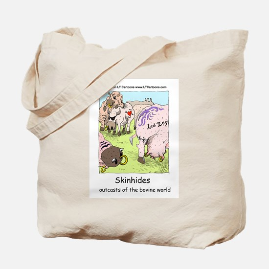 Classic Rock For Cows Tote Bag