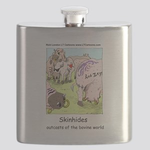 Classic Rock For Cows Flask