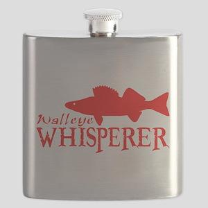 WALLEYE WHISPERER Flask