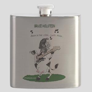 Bruce Holstein Born In The USDA Flask