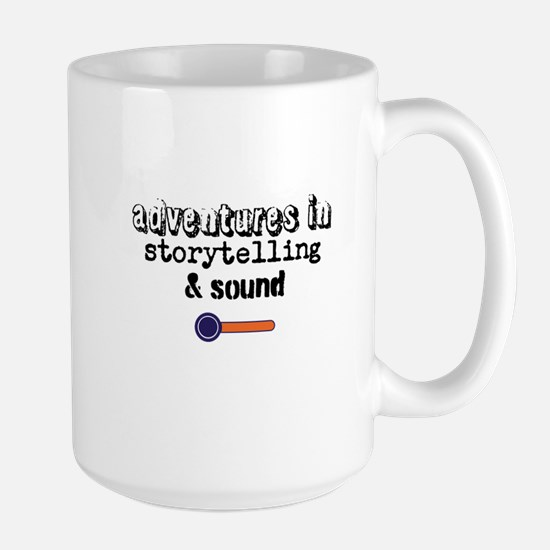 Adventures in Storytelling Sound Large Mug