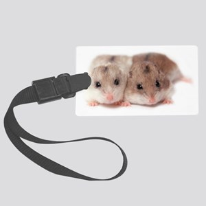 Chinese Hamsters Large Luggage Tag