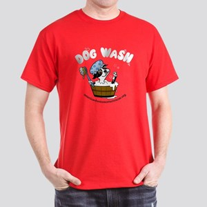 Dog Wash Transparent Dark T-Shirt