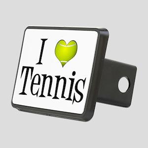 I Heart Tennis Rectangular Hitch Cover