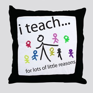 teach4them Throw Pillow