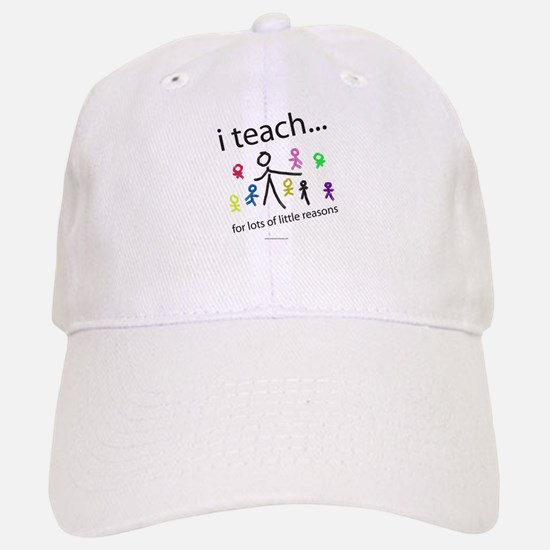 teach4them.png Baseball Baseball Cap