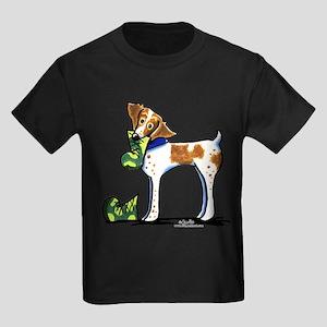 Brittany Camo Boots Kids Dark T-Shirt