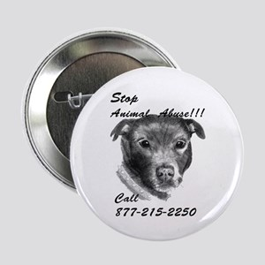"""STOP ANIMAL ABUSE 2.25"""" Button"""