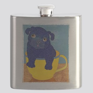 teacupBlack Flask