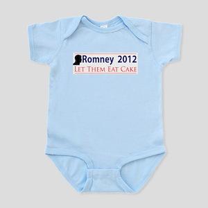 Romney 2012 Let Them Eat Cake Infant Bodysuit