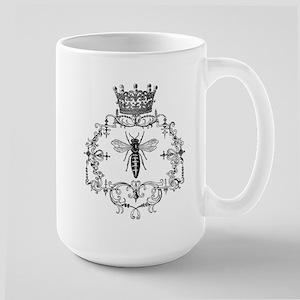 Vintage Queen Bee Large Mug