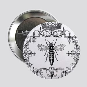 "Vintage Queen Bee 2.25"" Button"