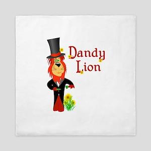 Dandy Lion Queen Duvet