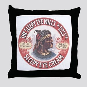 CHIEF SLEEPY EYE 2B Throw Pillow