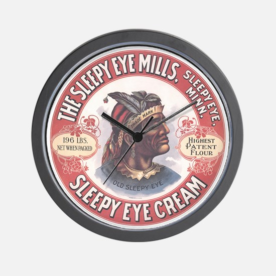 CHIEF SLEEPY EYE 2B Wall Clock