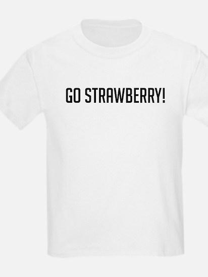 Go Strawberry Kids T-Shirt