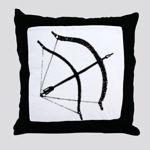 DH Bow Throw Pillow