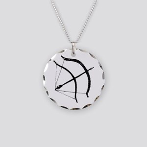 DH Bow Necklace Circle Charm