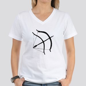 DH Bow Women's V-Neck T-Shirt