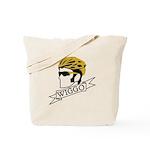wiggo_blackyellow_3 Tote Bag