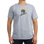 wiggo_blackyellow_3 Men's Fitted T-Shirt (dark