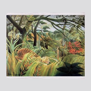 Henri Rousseau tiger in a tropical storm Stadium