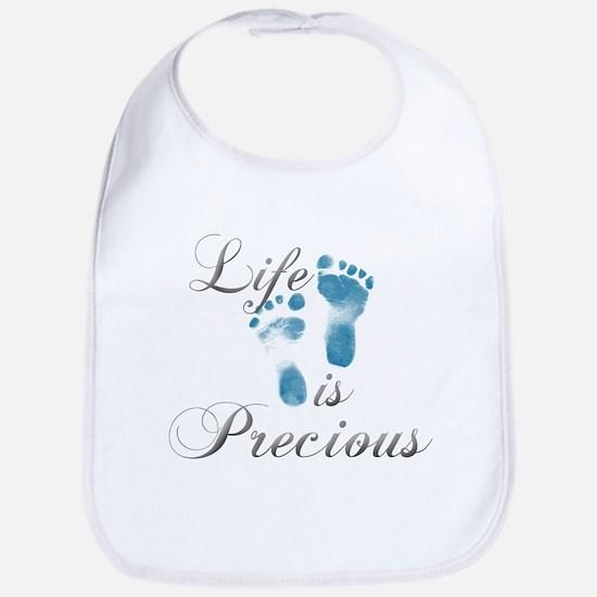 Life is Precious Bib