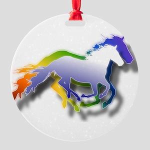 Running Round Ornament