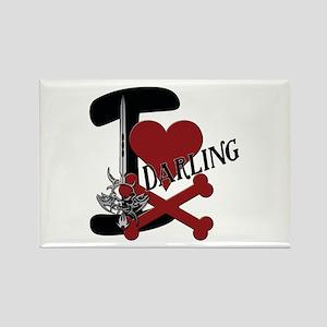 Darling Rectangle Magnet