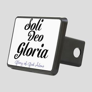 Soli Deo Gloria Rectangular Hitch Cover