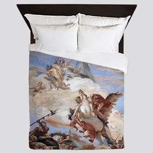 Bellerophon on Pegasus Queen Duvet
