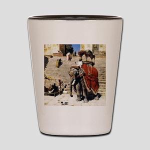 Edwin Lord Weeks Royal Elephant Shot Glass