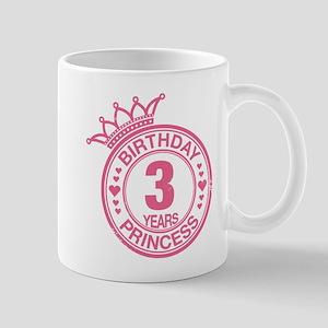 Birthday Princess 3 years Mug