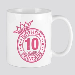 Birthday Princess 10 years Mug