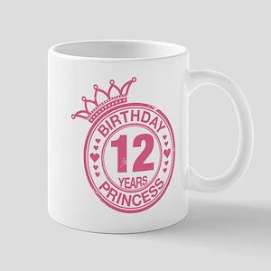 Birthday Princess 12 years Mug