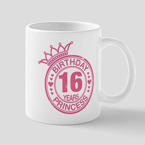 Birthday Princess 16 years Mug