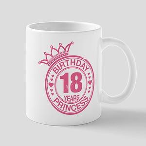 Birthday Princess 18 years Mug