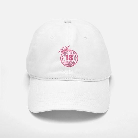 Birthday Princess 18 years Baseball Baseball Cap