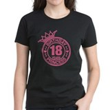 18th birthday girl Women's Dark T-Shirt