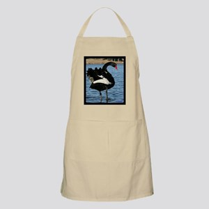 Moment with a Black Swan Apron